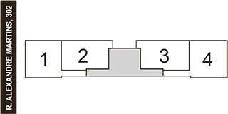 2° e 3° andar